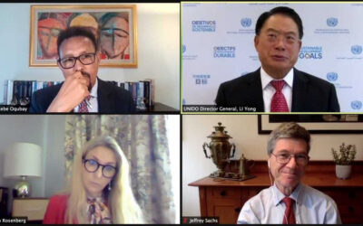 Global collaboration is key to recovery and achieving the SDGs